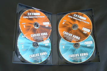 Alpha Immersion DVDs - all you need to become an alpha man and get more women in your life